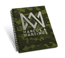 Marcus & Martinus: Notebog A5 Camo